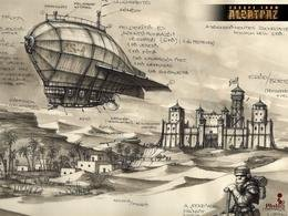 "Airship from the game ""Escape from Alcatraz"""