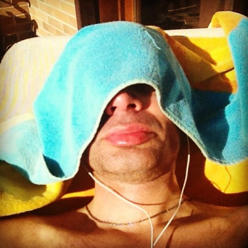 #Sunbathing in Rome (right now :] )