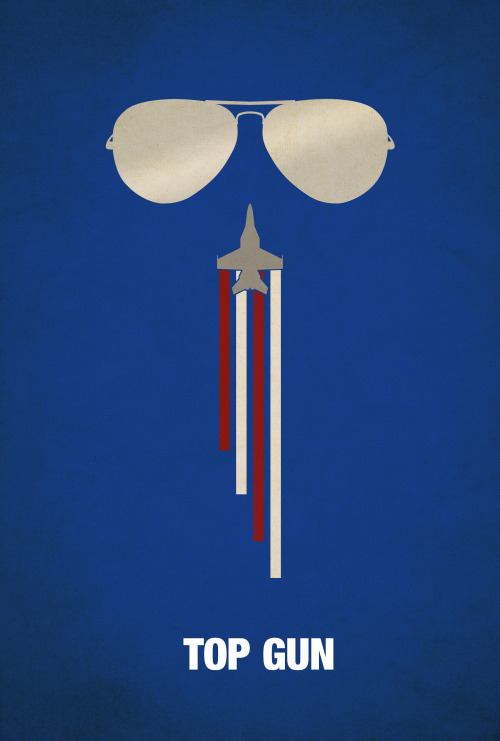 fuckyeahmovieposters:  Top Gun by Matt Walker   Way to put an F-18 on the Top Gun poster.