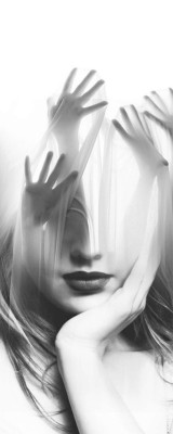 black-white-madness:  Madness:  Handsup by Antonio Mora
