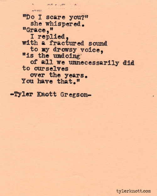 Typewriter Series #402 by Tyler Knott Gregson