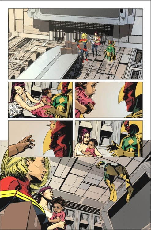 fyeahlilbit2point0:  Avengers Assemble Annual #1 preview