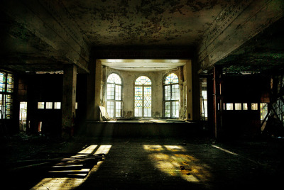 abandonedography:  Abandoned Baraque, Russia by Annie-Bertram