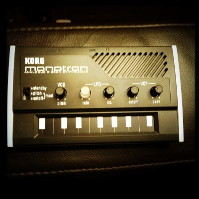 My lovely little Korg Monotron