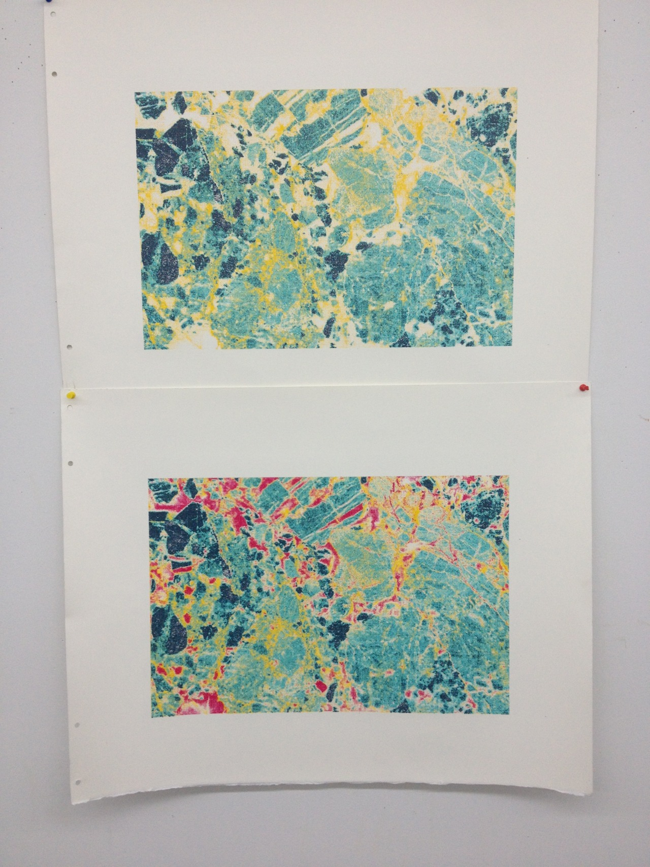 3 and 4 color silkscreen