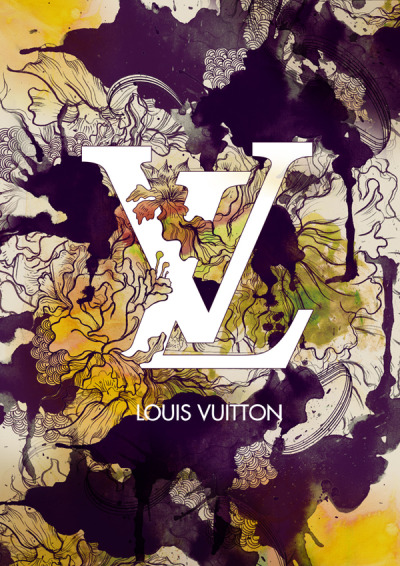 candiesforeyes:  Louis Vuitton illustrated by Daryl Feril