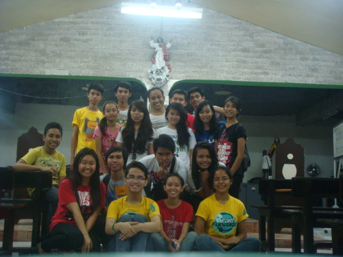 Hearts on fire for the Lord. <3 YCTP 2013 @Villa Luisa Chapel 04/01/13