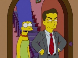 According to my Simpsons Fun Calendar, today is Stephen Colbert's birthday.
