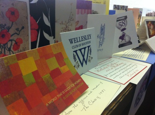 Happy birthday, Wellesley! We love all the birthday cards the WCAA has been receiving as part of the Founders' Day revival. (April 17!)