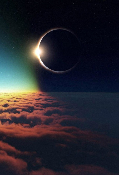 x-enial:  Eclipse at 35,000 feet