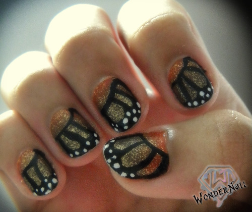 wondernail:  butterfly wings