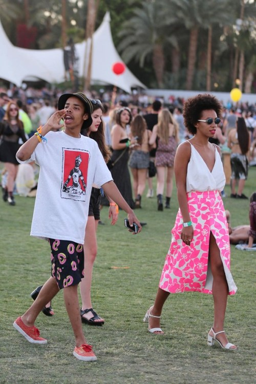 spxrk:  Jay-Z & Beyonce Spotted at Coachella