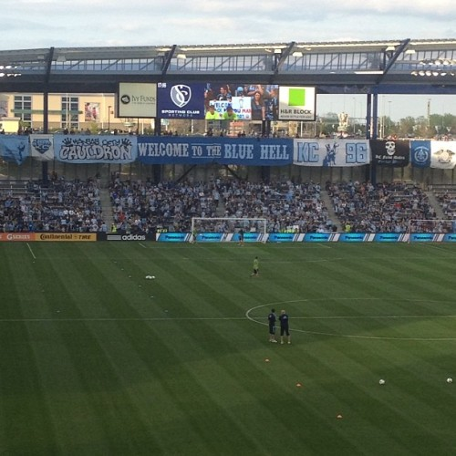 Sporting Kansas City welcome to the blue hell