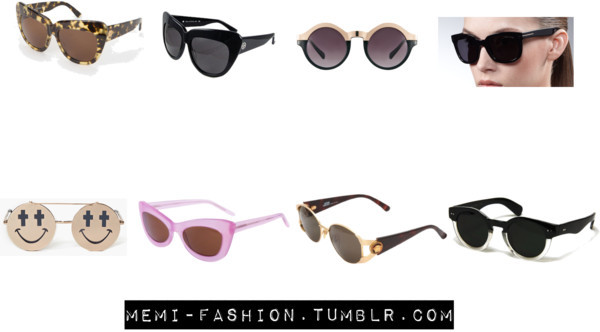 Masterpost of Miley's sunglasses. House of Harlow 1960 Chelsea Sunglasses (with print) House of Harlow 1960 Chelsea Sunglasses in Black Asos Metal Top Keyhole Round Sunglasses Tom Ford Campbell Metal-Detail Sunglasses NastyGal Smile Shades LOOKMATIC Patti Goes To Paris VINTAGE GIANNI VERSACE SUNGLASSES MOD S64 COL 030 Retro Vintage Round Leonard Black & Transparent Clear Sunglasses Dark Lens