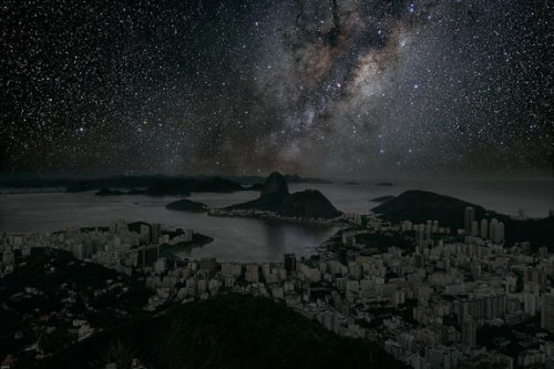 (via What Major World Cities Look Like at Night, Minus the Light Pollution | Collage of Arts and Sciences)