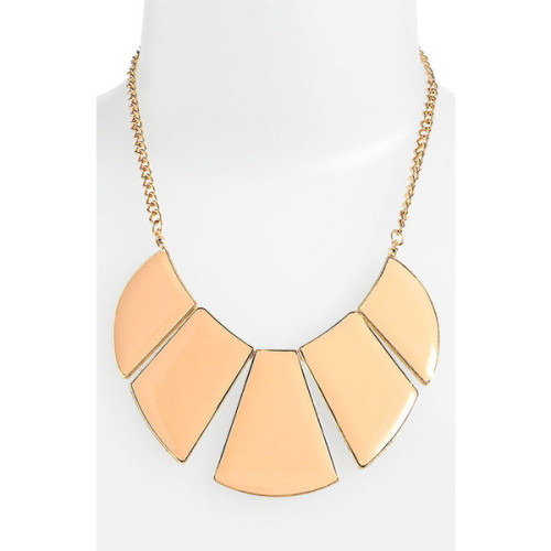 Carole necklace   ❤ liked on Polyvore (see more enamel necklaces)