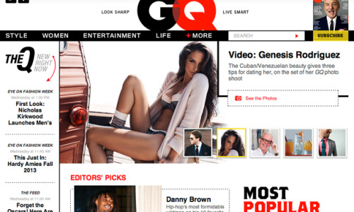 Welcome to the New GQ.com