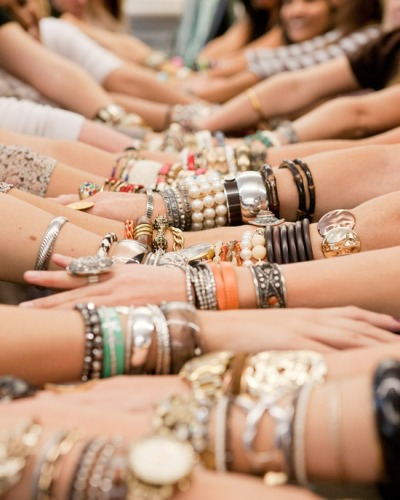 Arm candy…I want them all!