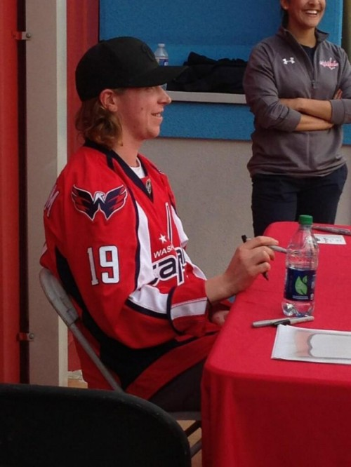 Caps Season Ticket Holder Party @ Six Flags, 04.14.13 Source: @Jessica_Stan808