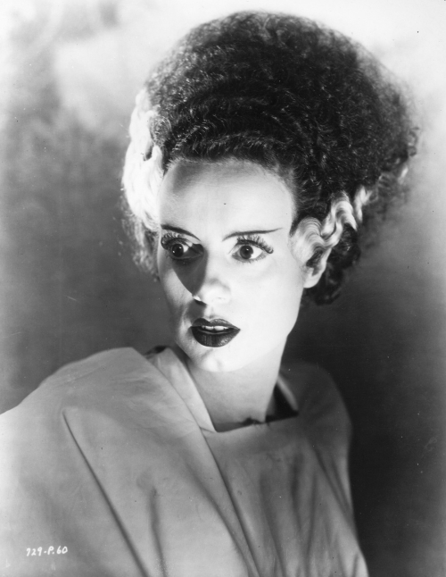 vintagemarlene:  elsa lanchester (source: david-paris.blogspot.com)