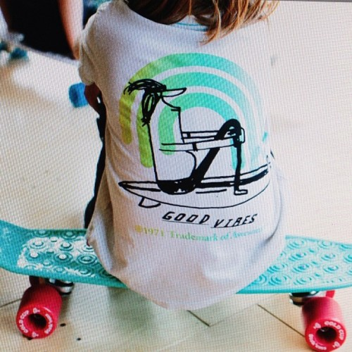 Good Vibes summer tee and free shipping. Available in the shop. #prefresh #trademarkofawesome