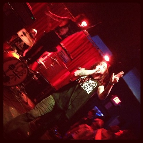 Cancer Bats! #cancerbats #haildestroyer (at Dada Dallas)