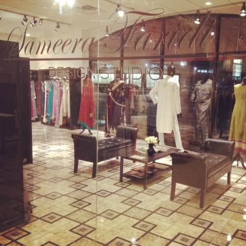 "Introducing ""Sameera Faridi Design Studio"" at ""Poshak Houston""Sameera Faridi Design Studio is a brand name signifying beautiful Evening & Bridal wear. Our collection is sensual and decadent, exclusively for the individual requiring a sophisticated , elegant look. The image Sameera Faridi Design Studio portrays is one of femininity and elegance, sophistication and class. We use luxurious fabrics such as: Royal Duchess Satin, French Chantilly Lace, Silk Chiffons and Silk Satin as well as intricate beading; all combined to perfect beauty. We design in a contemporary way, cutting silhouettes with precision to compliment the curves .We pay close attention to the smallest detail and fit, creating that perfect look.At our Design Studio we celebrate all that is glamorous.We have a design service which enables clients to incorporate their own ideas, choosing from a huge selection of types and colors of fabrics, many with crystal and diamante embellishments incorporating dabka work & traditional zardozi work.We take great pleasure in catering for brides who want their wedding dress to encapsulate the spirit of romanticism as well as those looking for inspiration and individuality.Book Your Appointment Today : 713-532-3232"