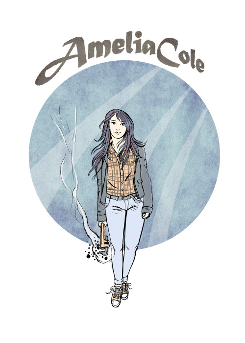 Ed Siomacco drew an amazin' Amelia! http://www.idgit.com/blog/2013/04/amelia-cole-2/ - and don't forget - Issue 1 of AMELIA COLE AND THE HIDDEN WAR drops May 8th, but you can pre-order it RIGHT NOW for only 99 cents!