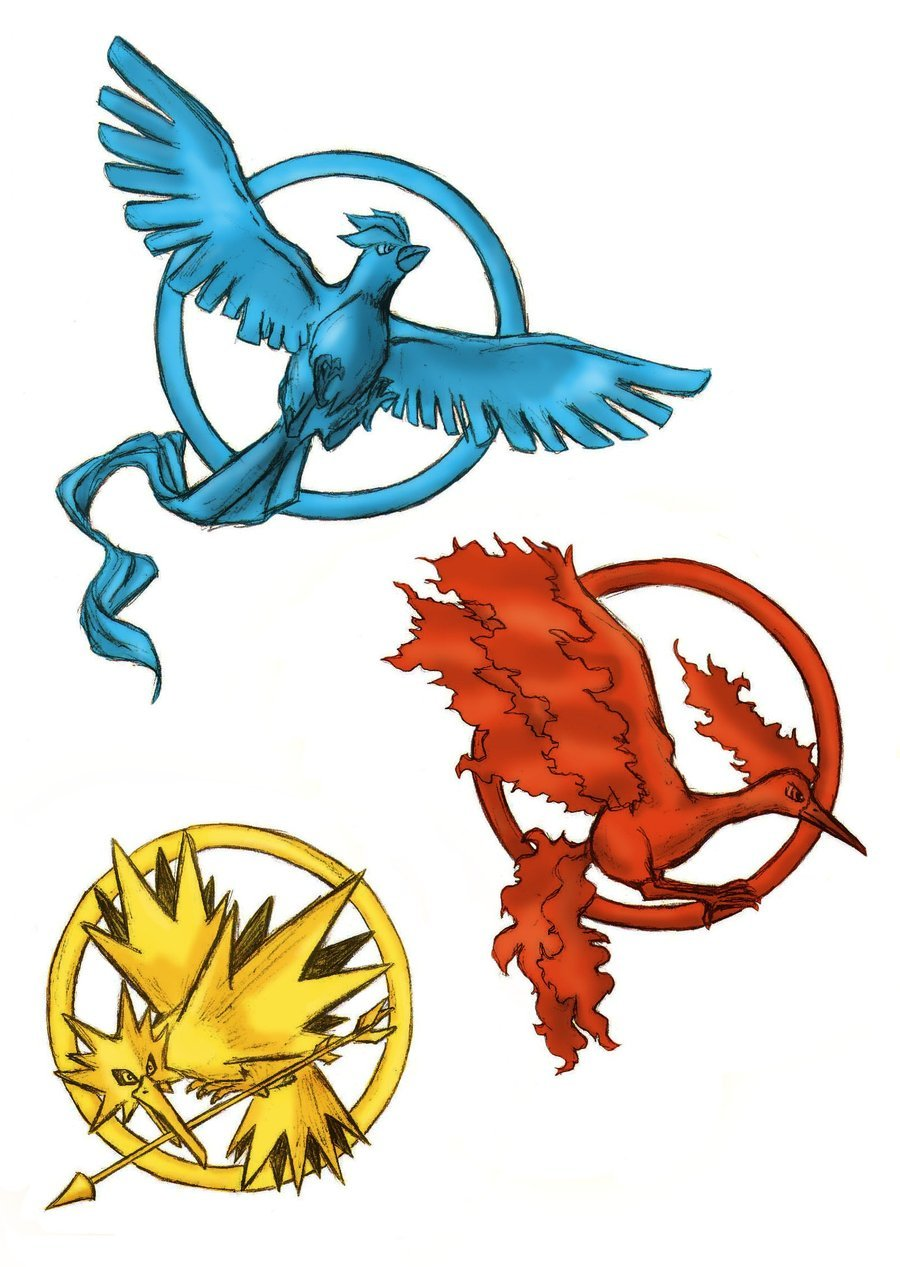 kinvy:  Pokemon meets Hunger Games by ~bluekensou