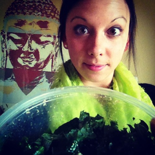 Selfish #Kale. Happy Sunday!