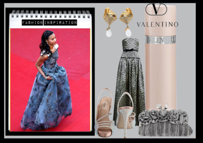 Fashion Inspiration from Cannes with Love: Zoë Saldaña in Valentino Fashion Inspiration from Cannes with Love: Zoë Saldaña in Valentino by fashionwidget featuring View Post