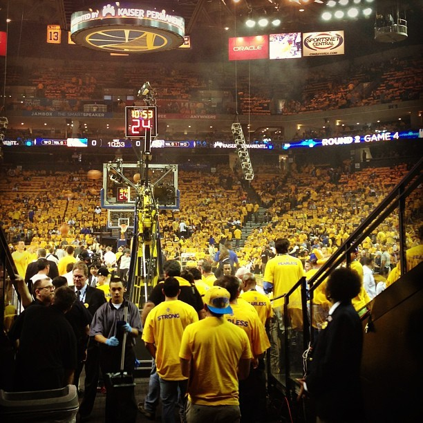 Warriors vs. Spurs, Game 4 (at Oracle Arena)