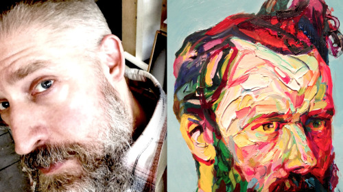 mucksnipe:  Aaron Smith keeps thinking about an unfinished painting in his studio. http://www.pinterest.com/mucksnipe/