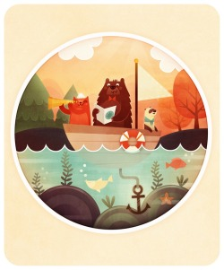 storypanda:  Going on a sailing adventure | Illustration by Marianne Vincent