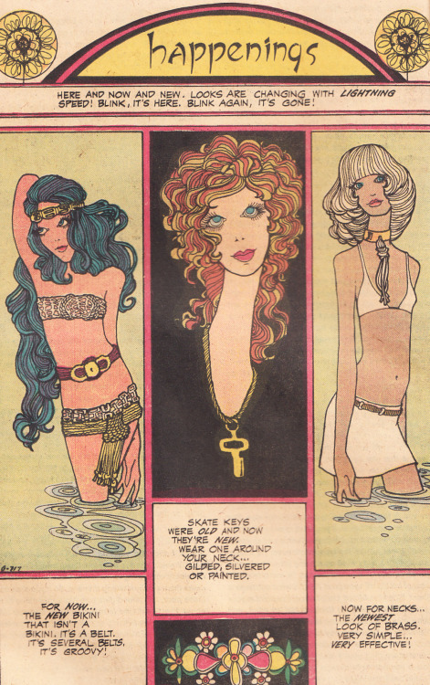 superseventies:  Happenings…. Young Love comic, 1974.
