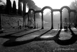 | Shadows of Villa Adriana | Tivoli, Italy