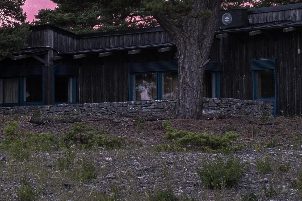 Bergman's house. Note the reflections which takes shape of an angel. #angel#bergman#faro#sweden#sverige#ingmarbergman#art#landscape#sunset#beach
