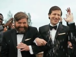 Makeup & Hair for Zach Galifianakis & Andy Samberg via funny or die