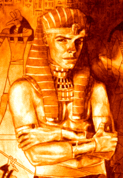 "hoyvinmayvin:  ""Set, also known as Sutekh, is a Typhonist and worshiper of Apep the Serpent. He was Embraced by one of Caine's childer (presumably Zillah), believed to be about two millennia prior to the first pharaonic dynasty, which began around 3000 BC. He is an Antediluvian who became the Typhon of an ancient cult, originally known as the Snake Clan. They are the Followers of Set who are trained in the Discipline of Serpentis. This cult's main enemy are the Children of Osiris, whom they've battled for millennia. After Set's last battle with Osiris, in 33 BCE, he disappeared, perhaps in torpor somewhere under the desert sands of Egypt.""- Unofficial White Wolf Wiki"
