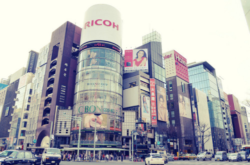 Ginza by plenty of flour on Flickr.