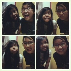With @breakatedownyo ! Fun day todayyy. :)) @ @iraaagillian 's place. #personal2012 #photos