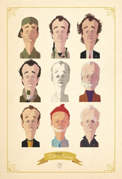 Bill Murray by LOREN shop.