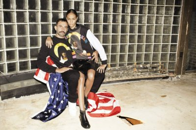 Riccardo Tisci + Joan Smalls for Self Service #38 [S/S 2013]
