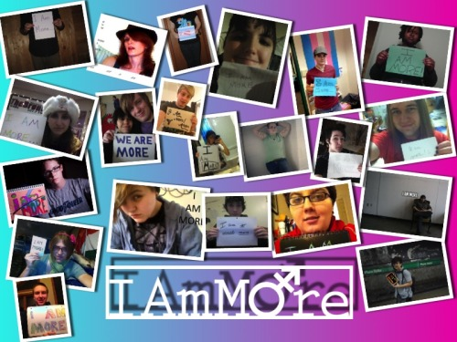 Did you miss the opportunity to send in a submission to the I Am More Project? For the next week Boxers and Binders will be accepting I Am More submissions one last time before the video starts being put together.  Send in your submissions to anthonydoubek@gmail.com  Check out more about the I Am More Project here http://boxersandbinders.com/i-am-more-project/