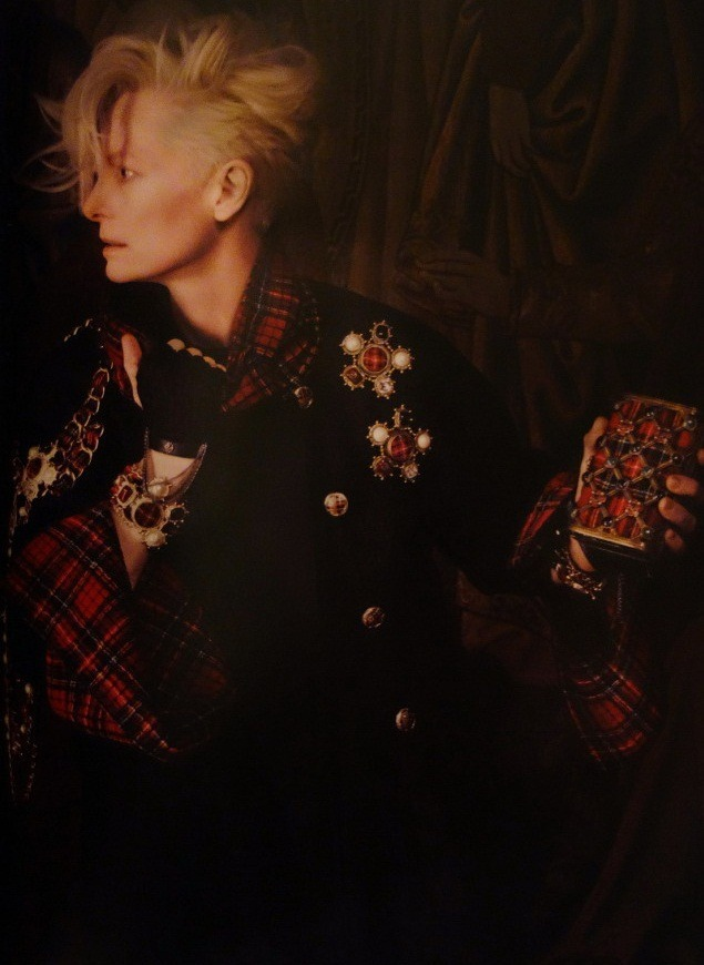 Tilda Swinton for Chanel Paris-Edinburgh 2013 by Karl Lagerfeld