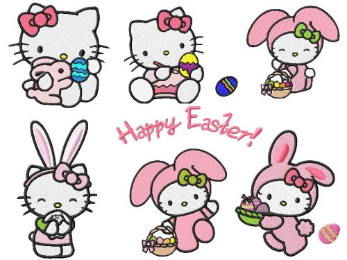 myloveforhellokitty:  Happy Easter, everyone!