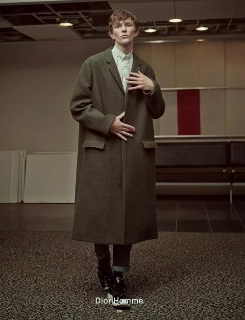 hardlyasubstitute:   Richard Detwiler by Charlotte Wales Dazed Autumn 2014