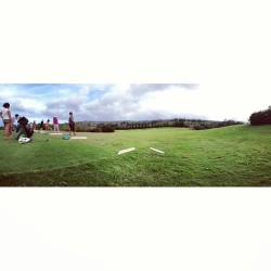 Christmas Day golf with the family #kapalua #golf