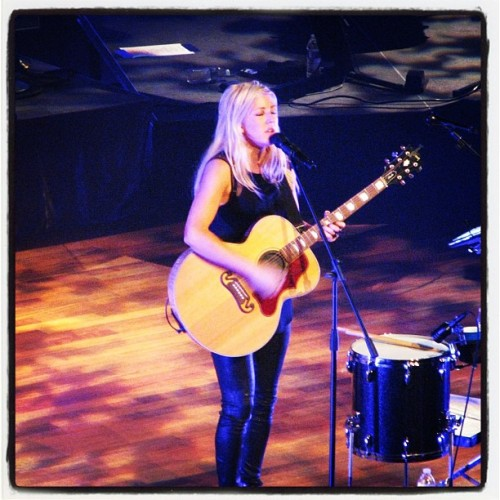 cravethetouch:  Ellie Goulding at the Ryman. Nashville 5/20 #elliegoulding  Stealing this photo Megan haha