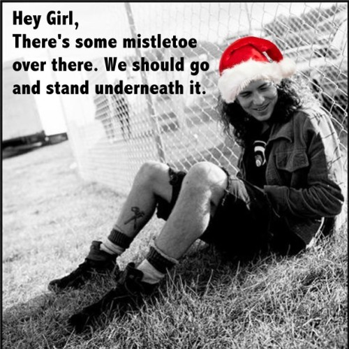 Merry Christmas from Eddie Vedder Hall Pass :-)